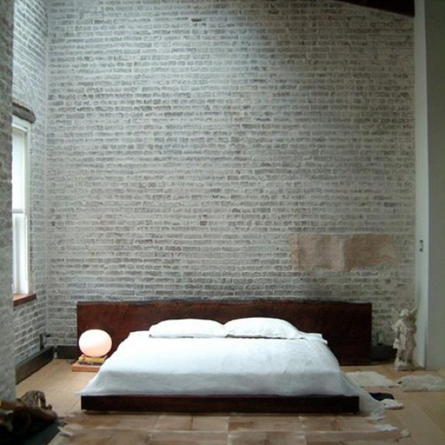 Bedroom bagged bricks