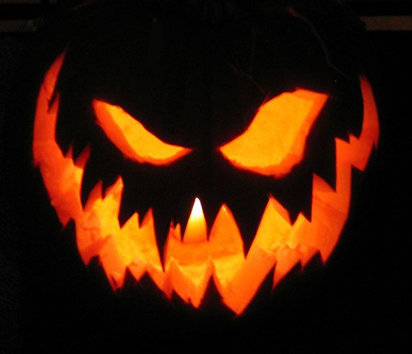 Took An Hour Or So To Carve Up A Pumpkin This Year. Nothinu0027 Fancy   No  Relief Carving Or Accesories, Just A Good Old Fashioned Sinister Looking  Jack O L.