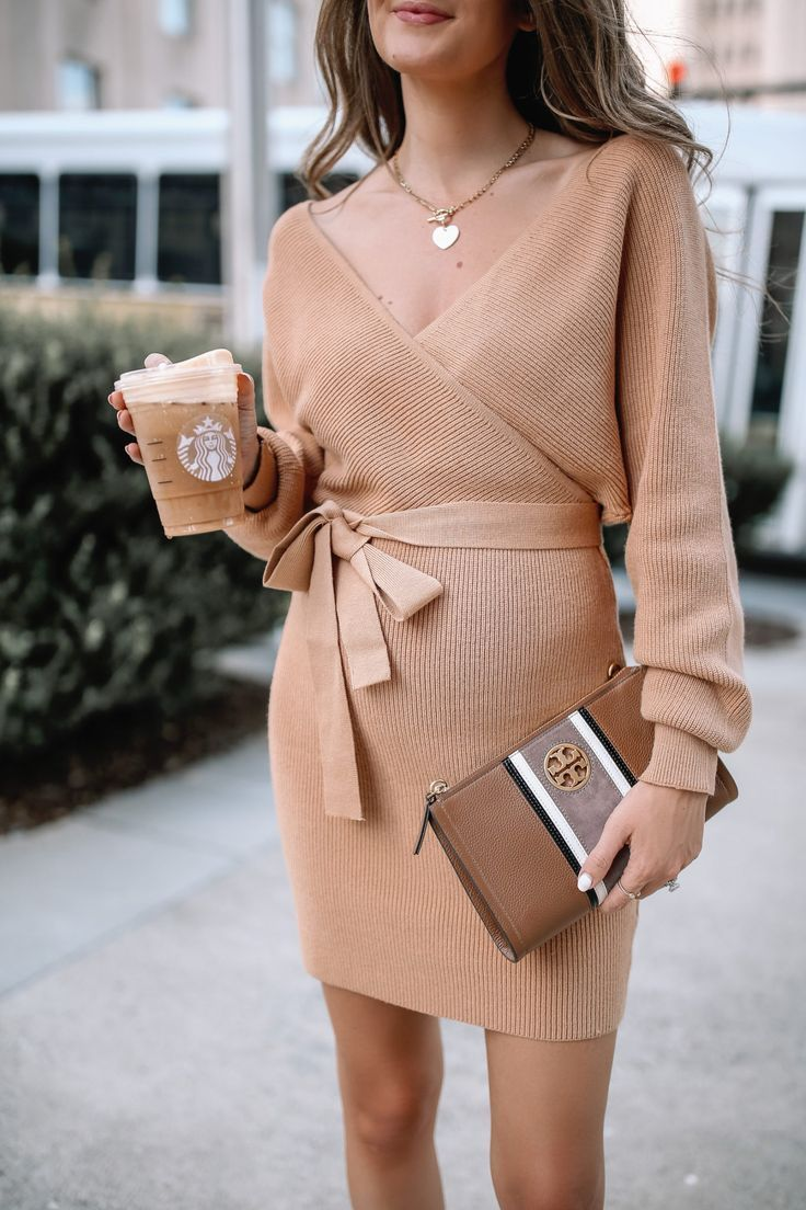 The Cutest Amazon Sweater Dress Fashion Dress Trends 2020 Fashion Dresses Casual Outfits [ 1104 x 736 Pixel ]