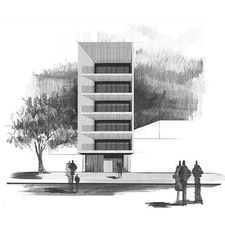 Modern Architecture Design Sketch 13 best modern homes images on pinterest | modern homes, sketching
