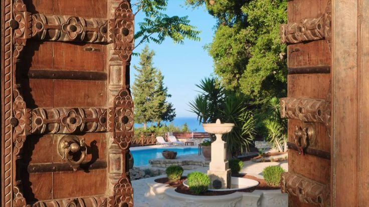 Purple Apricot Hotel, Paxos, Greece, Simpson Travel