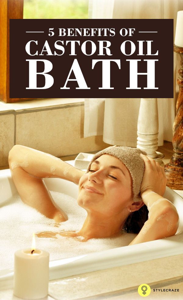 You probably know how castor oil is good for many things. But did you ever stop and wonder how beneficial a castor oil bath can be? Well, wonder no more. Read this post and learn about some of the health benefits of a castor oil bath.