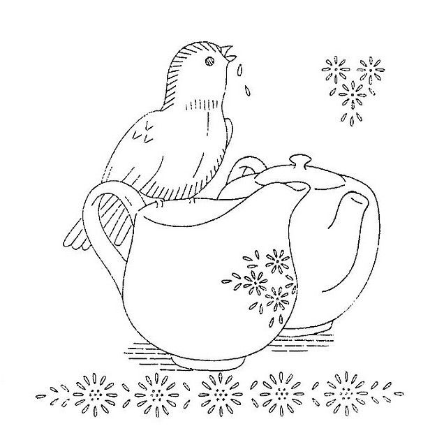 ***: Embroidery Blocks, Embroidery Patterns, Silverware Embroidery, Vintage Styles, Styles Embroidery, Crochet Knits Embroidery, Teapots Embroidery, Embroidery Boards, Vintage Embroidery