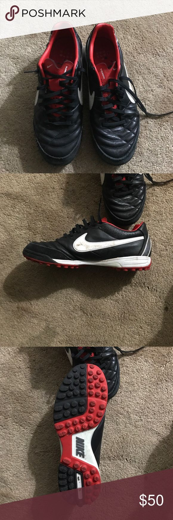 Nike tiempo turf Barely worn turf shoes. Nike Shoes Athletic Shoes