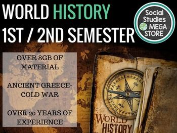 World History First and Second Semester of teaching