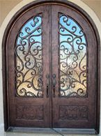 Gorgeous door. Want it someday.: Front Doors, Beautiful Doors, Wrought Iron