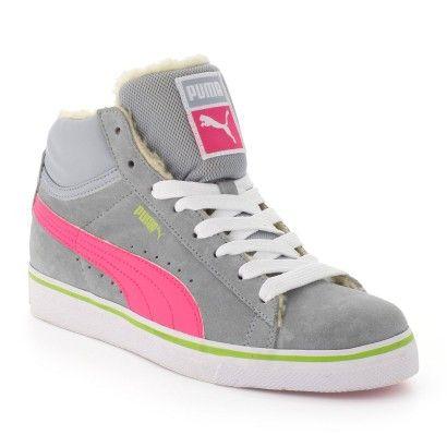 Baskets/Tennis montantes gris pour Femme : Baskets/Tennis montantes Puma - 55,00€