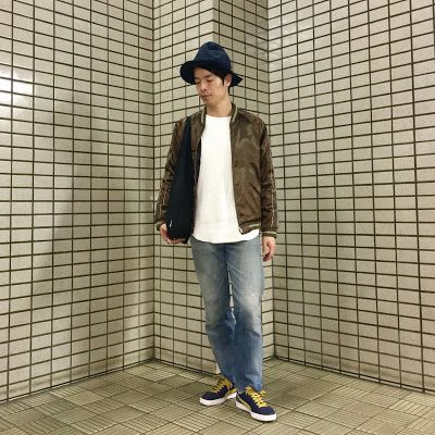 Y's Wardrobe: 【BEAMS KIIT levi's】テロテロ生地のスカジャンスタイル継続中!