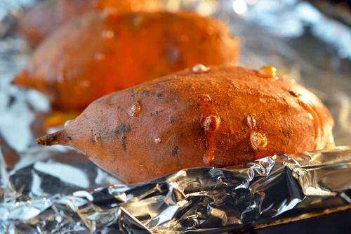 Simple yummy baked yams