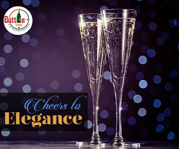 With delectable #Champagne, drink the grace of elegance... Order► 403-918-3030  www.bottletime.ca