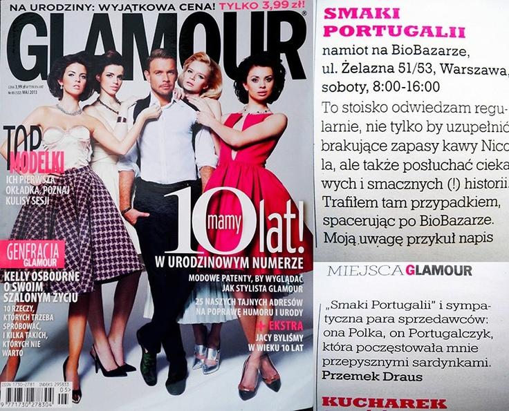 Smaki Portugalii na BioBazarze   Glamour, maj 2013
