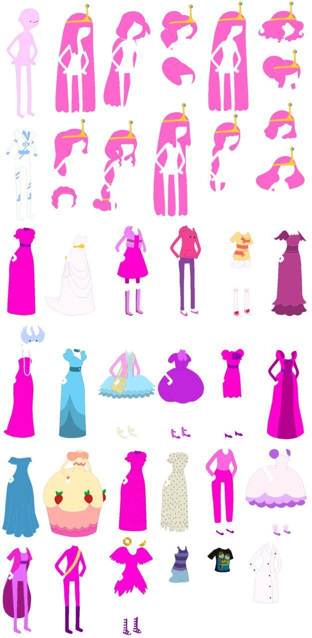 Adventure Time D Paper Crafts
