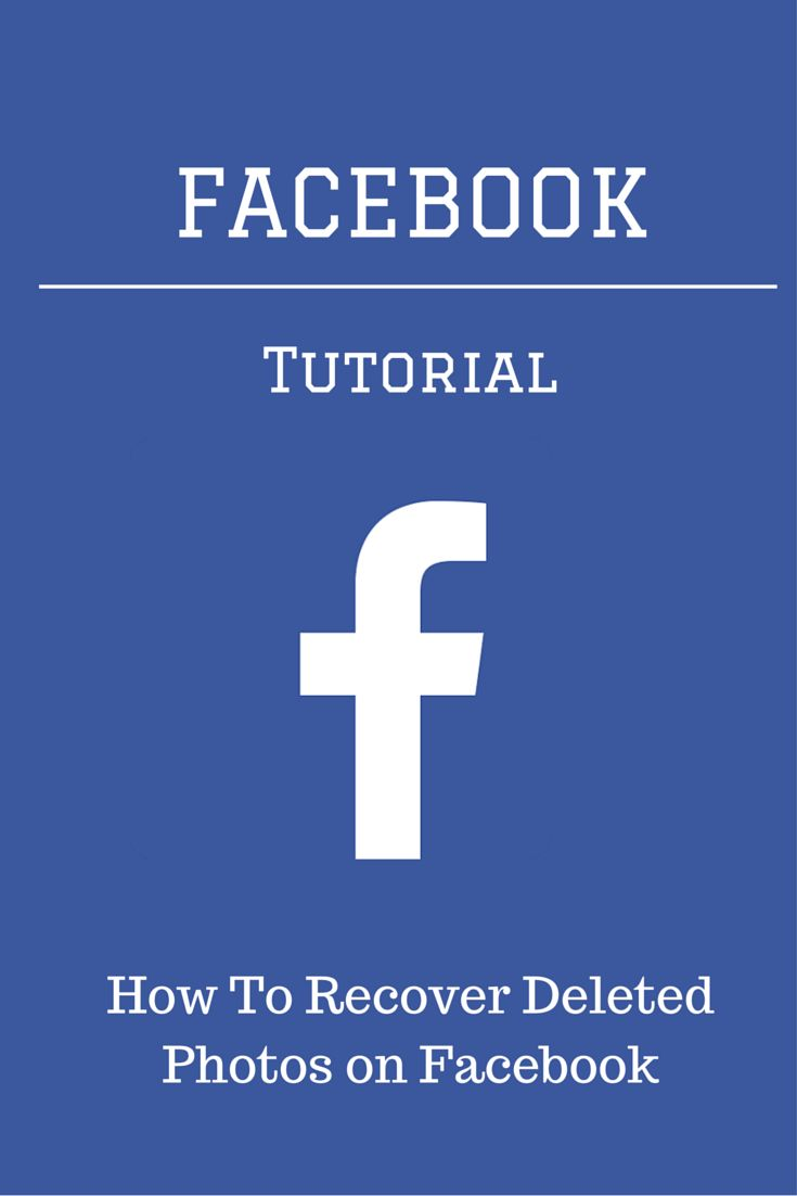 Can't find a photo on Facebook? Learn how to recover deleted photos on Facebook with these few simple steps.