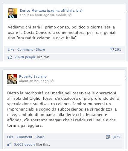 Mentana VS Saviano