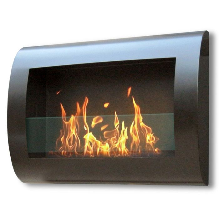 Anywhere Fireplaces Chelsea Wall Mount Bio-Ethanol Fireplace & Reviews | AllModern