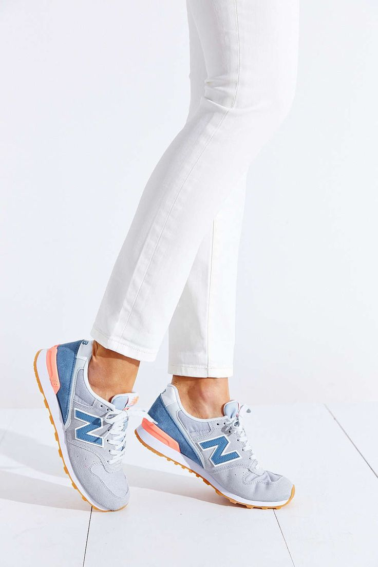 New Balance 696 Bleues
