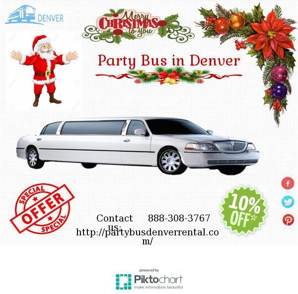 Party Bus in Denver | @Piktochart Infographic
