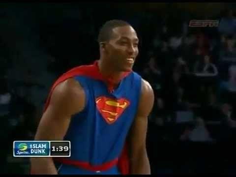 Dwight Howard #superman dunk
