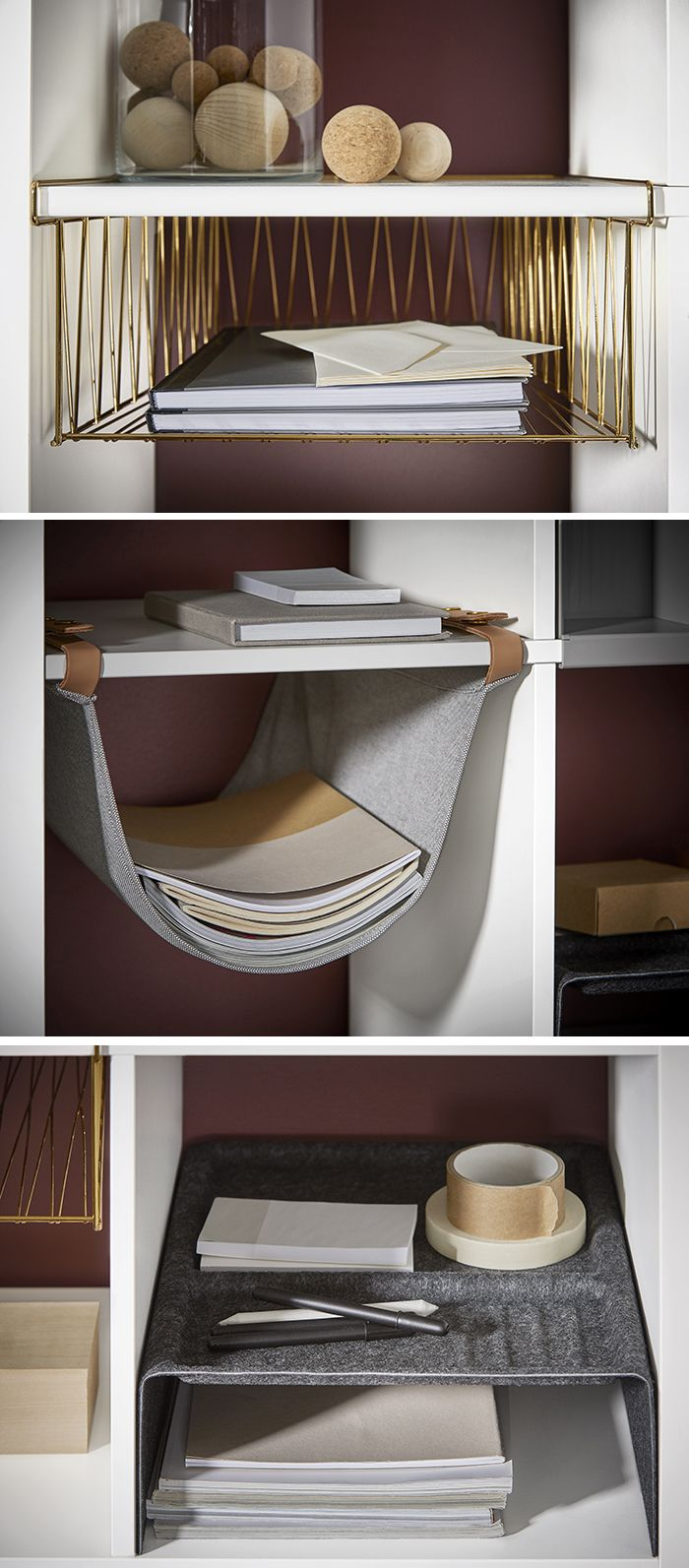 Ikea Kallax - five new accessories so you can add style and more functionality