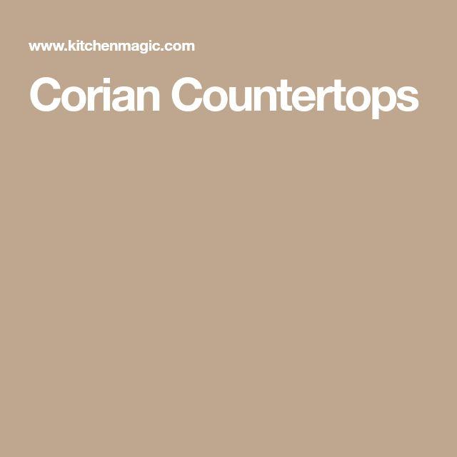 how to clean corian countertops