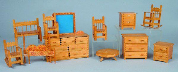 Dollhouse Furniture From Craft Sticks Miniature Furniture Pinterest Craft Stick Crafts