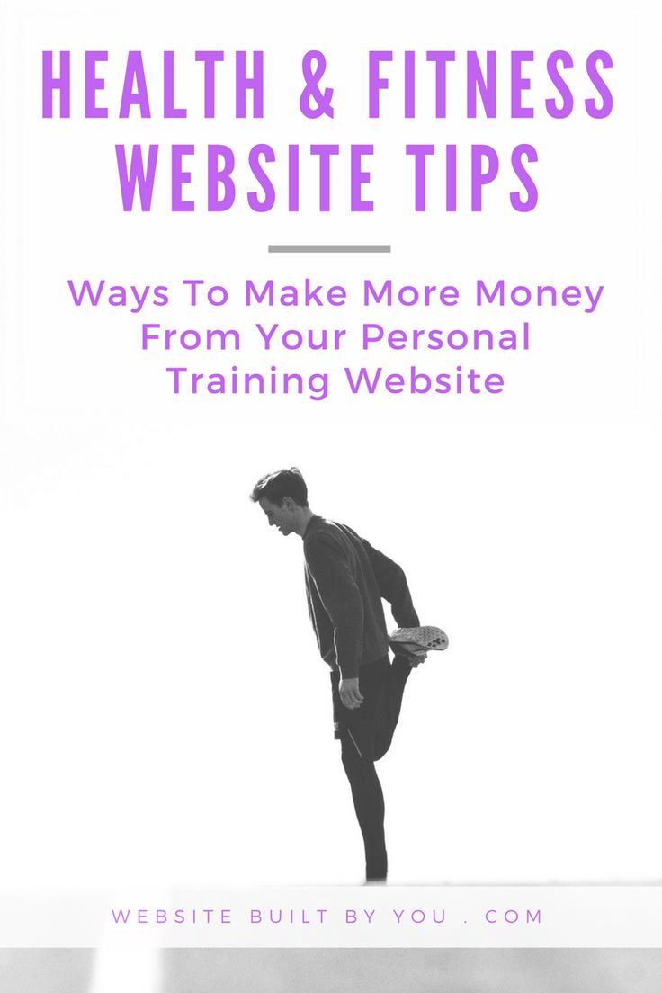 Learn how to make money from your health and fitness website. Make money from selling work you've already created offline by creating a fitness website to reach new clients. Make money Personal Training online TODAY!