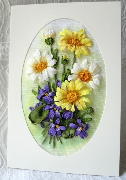 Картинки открыток из ленточек, картинка надписью