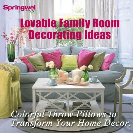 """""""#Pillows are one of the easiest and quickest ways to experiment with color.Pillows add color, pattern and texture to a room.Colorful #ThrowPillow can transform an entire room's decor and deliver a bold color statement."""" #InteriorDesign #HomeDecor #BedroomDesigns"""
