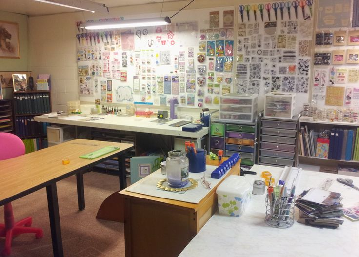 1000 Images About Scrapbook Room Ideas On Pinterest