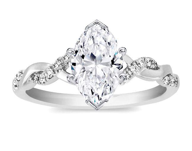 More marquise diamonds