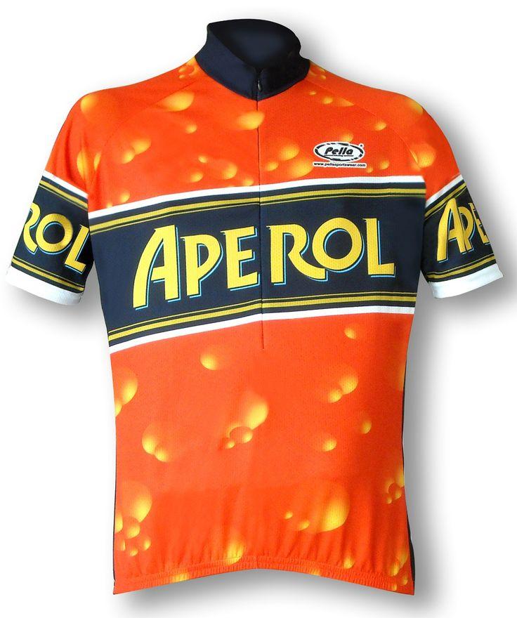 Maglia Ciclismo Manica Corta Aperol - Store For Cycling