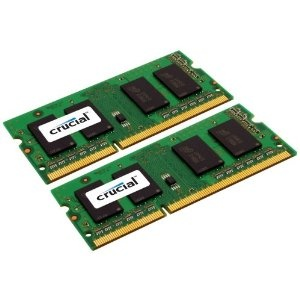 Special DIscount Crucial 8GB Kit (4GBx2) DDR3 1066 MT/s (PC3-8500) CL7 SODIMM 204-Pin Notebook Memory Modules CT2CP51264BC1067