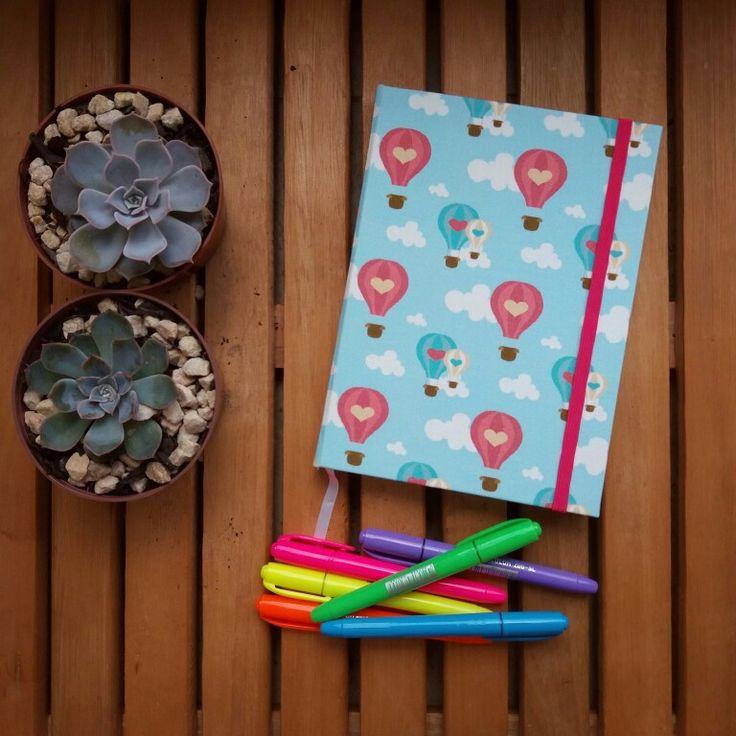 Caderno quadriculado, ótimo para bullet journal!