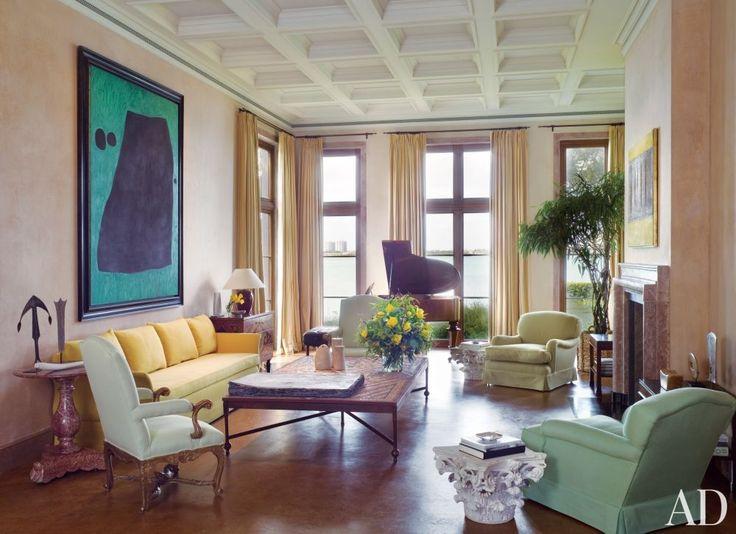 Pastel Modern Living Room Axel Vervoord