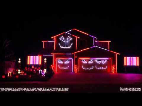 Awesome GHOSTBUSTERS Themed Halloween House
