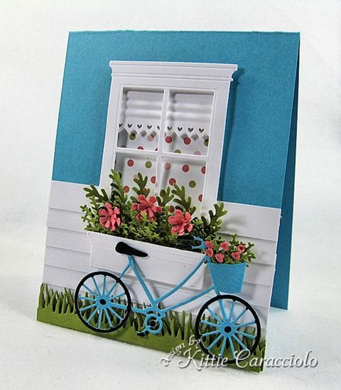 memory box bicycle die | ... Stamps Small Madison Window and the Brand New Bicycle from Memory Box