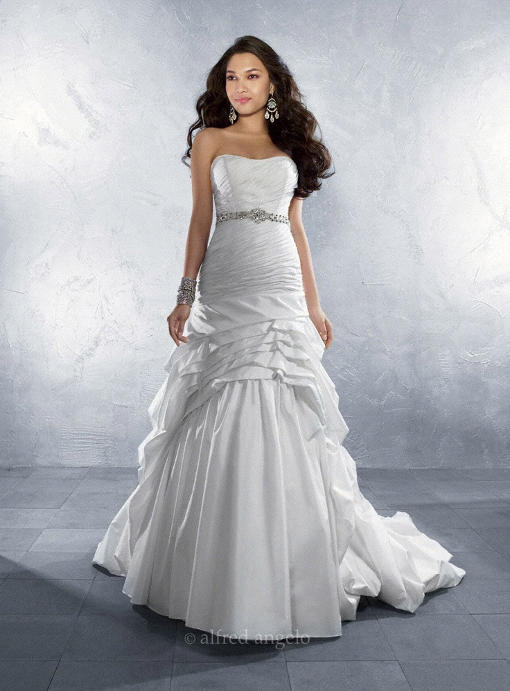 22 best Alfred Angelo Bridal Gowns images on Pinterest | Wedding ...