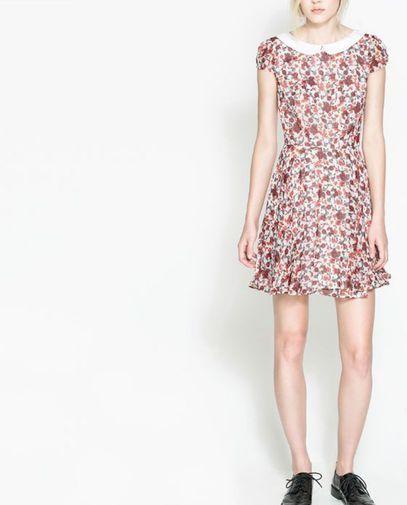 Vestido floral blanco y rojo - Chicfy 13 €