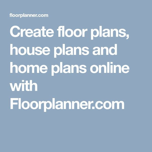 Create floor plans, house plans and home plans online with Floorplanner.com