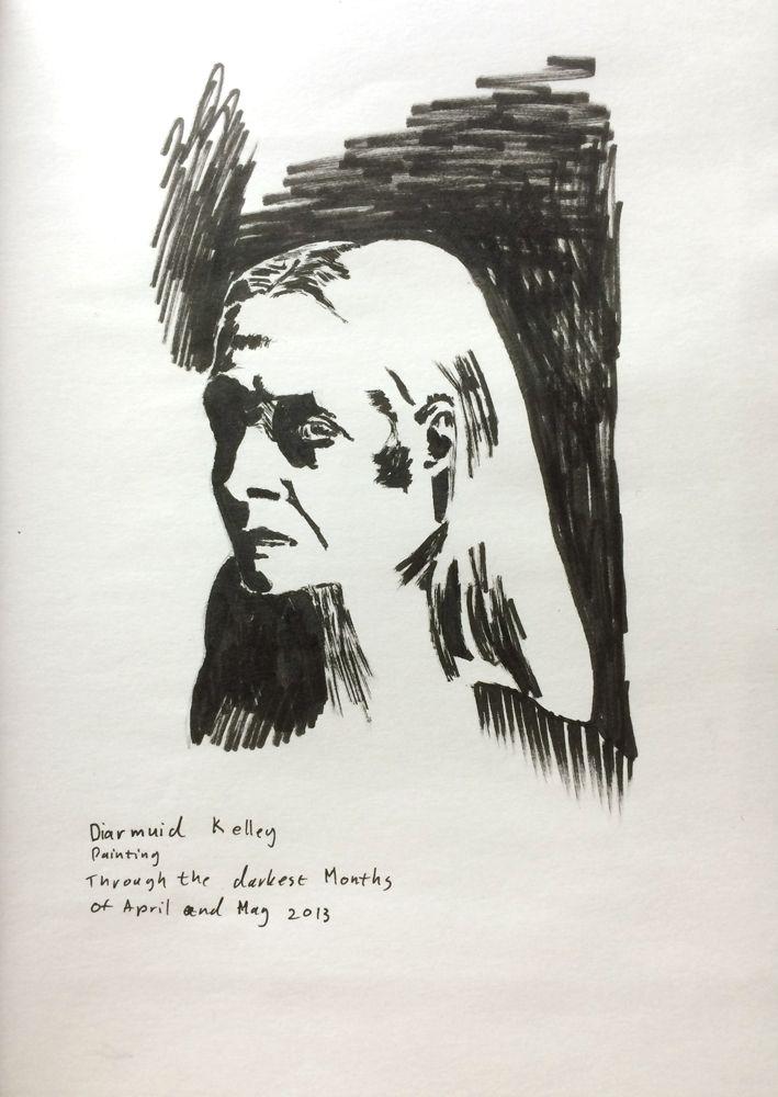 8 July 2014 - Diarmuid Kelly Painting