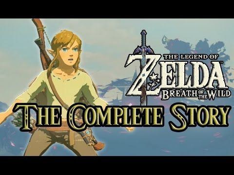 Zelda: Breath of the Wild - Complete Story (DIRECT FEED) - YouTube
