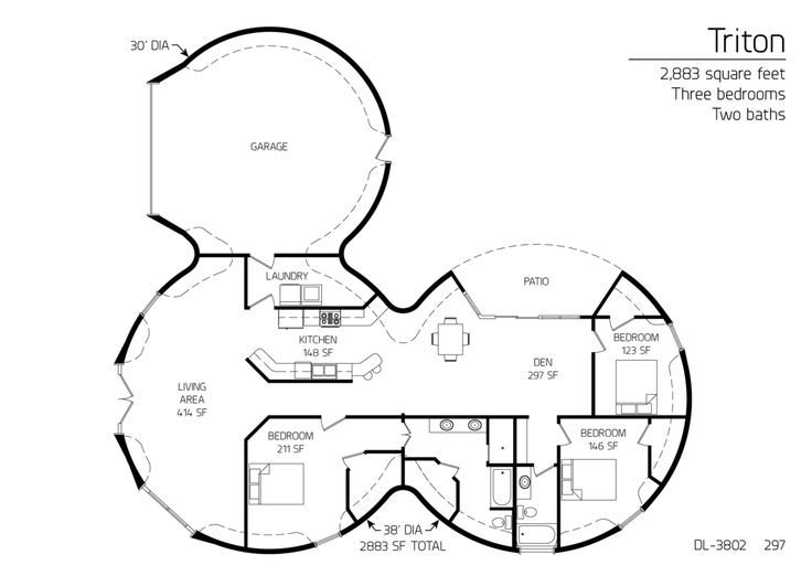 Concrete Dome Homes Floor Plans