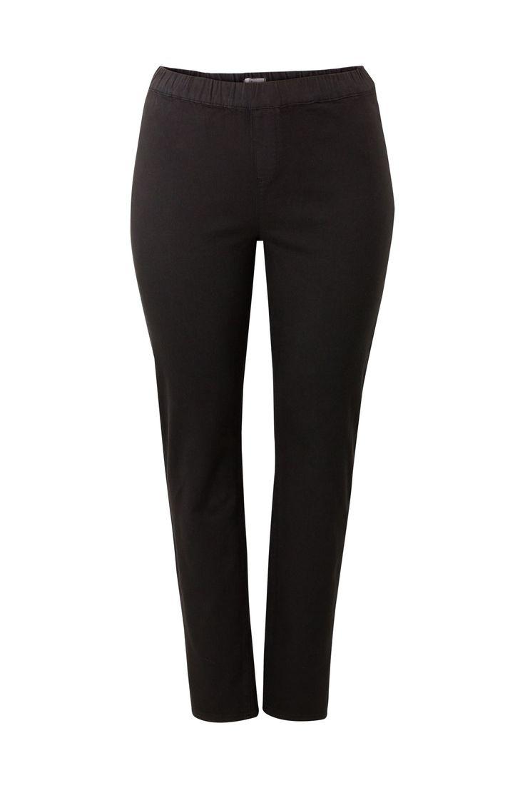 Tregging zwart 32'' Miss Etam  Zwarte tregging in slimfit model met hoge taille.  EUR 24.99  Meer informatie