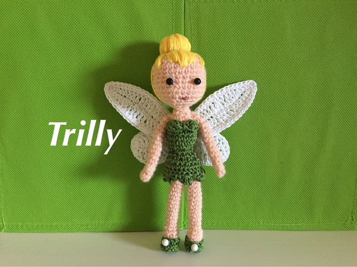 Trilly-fatina Amigurumi (tutorial) - YouTube