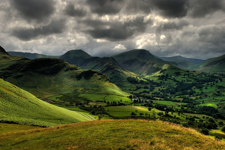 The Lake District - View From Catbells