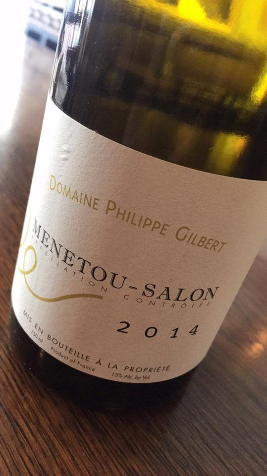 CELEBRATING YOU!!    Here's a great wine for any celebration:   MENETOU SALON BLANC, DOMAINE PHILIPPE GILBERT, LOIRE, FRANCE 2014    Philippe Gilbert is another of our trusted producers. The Menetou-Salon Blanc is fresh but soft and creamy acidity, ripe yellow fruit with long flinty finish.    In the appellation of Menetou-Salon, he produces powerful and elegant Sauvignon Blancs, just a matter of miles away from an area with historic ties to Scotland - the chateaux where Mary Queen of Scots…