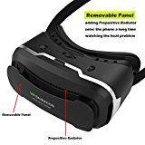 VersionTech VR 3D Virtual Reality Brille Headset Gogglebox für iPhone7 7Plus 6 6s Plus Samsung Andriond Handy 4.0-6.0 Inch   Lassen Sie neue Welt gnießen: