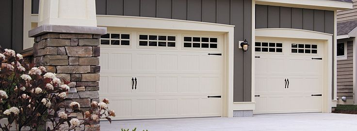 pics of carriage house garage door | Model 5283 -- Carriage House Garage Door Insulated with Steel Back ...