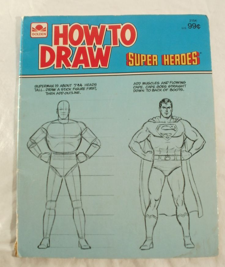 How to Draw Superman...