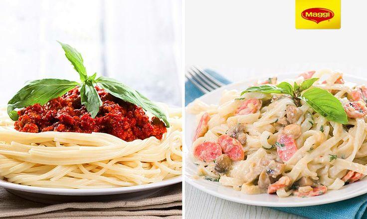 Spaghete Bolognese sau Carbonara https://www.maggi.ro/produse?